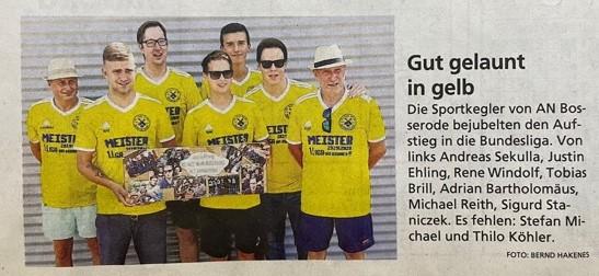 Sportlicher Rückblick, HNA und Hersfelder Zeitung aktuell.