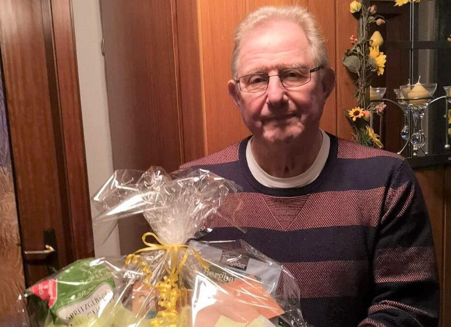Gründungsmitglied Manfred Baum ist 80 Jahre alt.